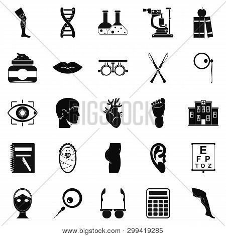 Assay Icons Set. Simple Set Of 25 Assay Icons For Web Isolated On White Background