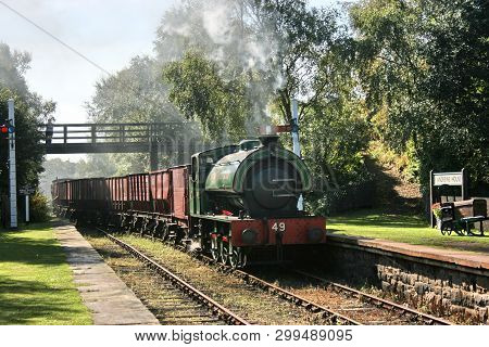 Tanfield Railway, County Durham, Uk, September 2009, View Of The Historic Tanfield Railway