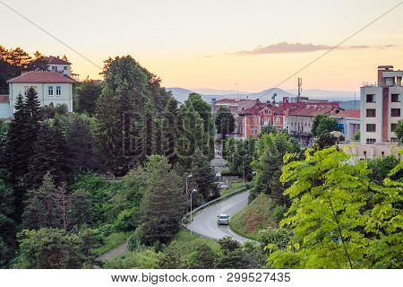 Townscape Of The Belogradchik City In Bulgaria