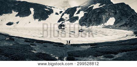 View Of The Tear Lake, Rila Mountain, The Seven Rila Lakes, Bulgaria
