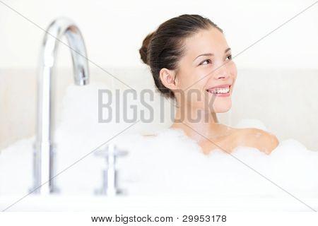 Bath Woman