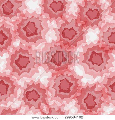 Tie Dye Vector Seamless Hand Drawn Pattern