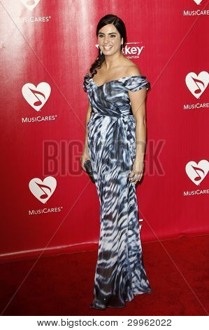 LOS ANGELES, CA - FEB 10: Emily Lazar at the 2012 MusiCares Person of the Year Tribute To Paul McCartney at the LA Convention Center on February 10, 2012 in Los Angeles, California