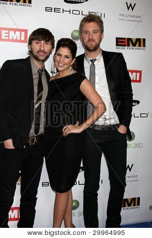 LOS ANGELES, CA - FEB 13: Lady Antebellum at the EMI GRAMMY After-Party at Milk Studios on February 13, 2011 in Los Angeles, California