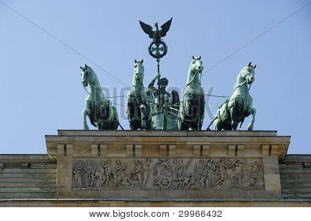 Quadriga of The Brandenburg gate