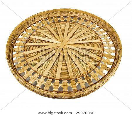 Vintage Willow Basket For Fruits