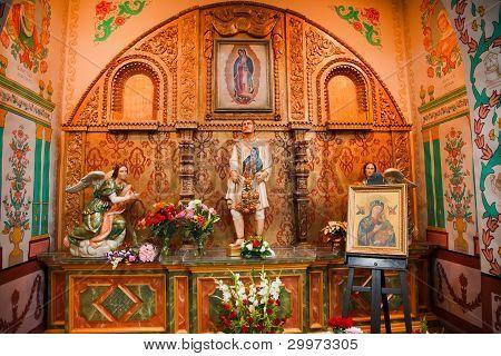 Guadalupe Shrine Mission Basilica San Juan Capistrano Church California