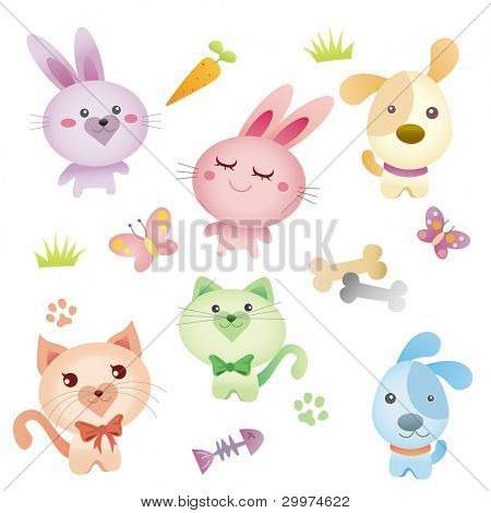 Lovely pet graphic