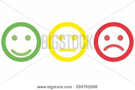 Smile Icon Vector Eps10. Smiley Face Sign. Emoji Face Smiley Icon Line Symbol. Isolated Vector Illus