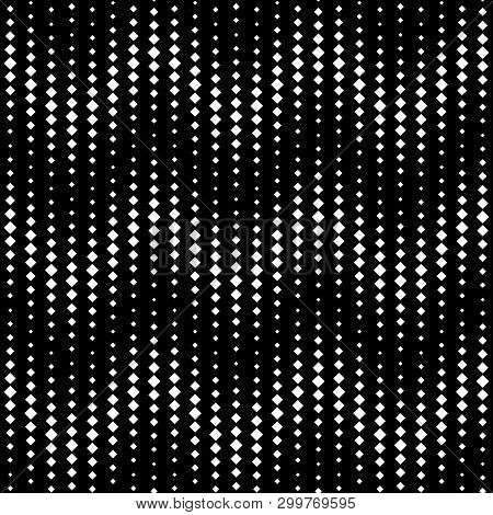 Square Dots In Rows Of Vertical Waves Pattern