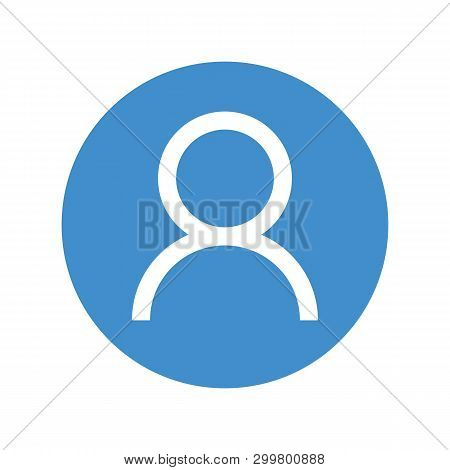 Account Icon Vector Eps10. User Profile Sign Web Icon With Check Mark Glyph. User Authorized Vector
