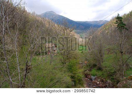 Pyrenees Mountains; First Days Of Spring On Benasque