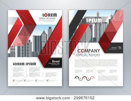Modern Red Brochure Design, Brochure Template, Brochures, Brochure Layout, Brochure Cover, Brochure