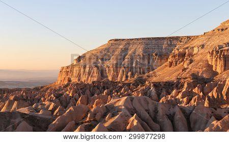 Rose Valley In  Cappadocia, Nevsehir, Turkey