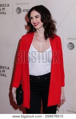 NEW YORK, NY - MAY 03. 2019: Actress Sylvie Preston attending at