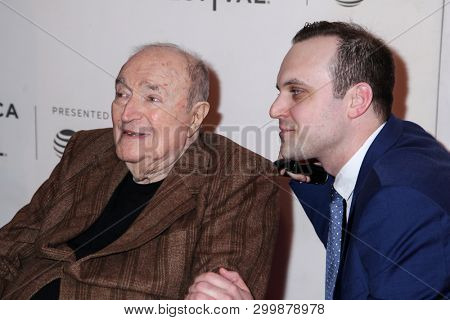 NEW YORK, NY - MAY 03. 2019: Wynn Handman (L) and Billy Lyons attends at