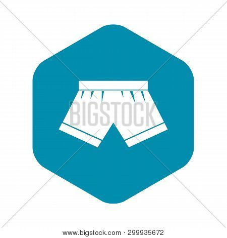 Male Underwear Icon. Simple Illustration Of Male Underwear Vector Icon For Web