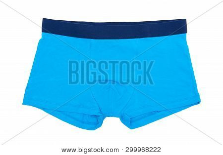 Boxer Shorts Isolated On The White Background