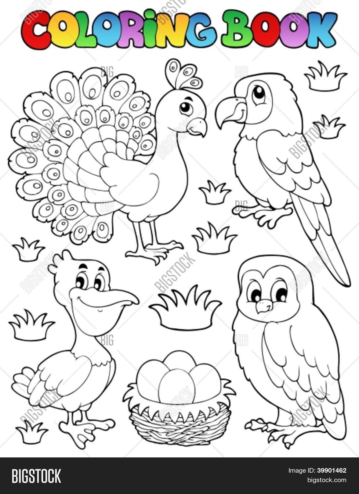 Increíble Hoja Para Colorear De Aves Bandera - Dibujos Para Colorear ...