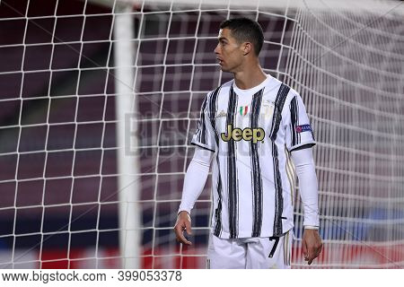 Barcelona (spain). 08th December 2020. Cristiano Ronaldo Of Juventus Fc   During The Uefa Champions