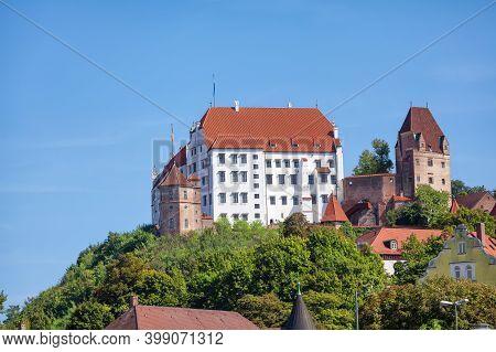 Trausnitz Castle (burg Trausnitz) In Landshut, Bavaria, Germany