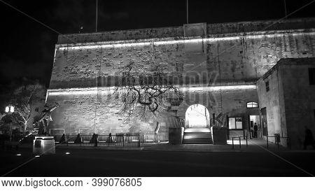 Cityscapes Of Valletta - The Capital City Of Malta - Island Of Malta, Malta - March 5, 2020