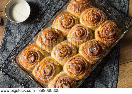 Sweet Homemade Cinnamon Rolls