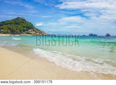 Nang Yuan Beach Near Koh Tao Koh, Thailand Surat Thani.