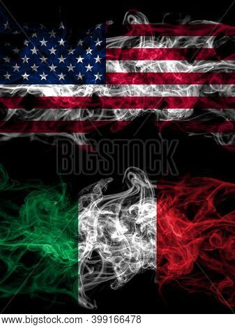 United States Of America, America, Us, Usa, American Vs Italy, Italian Smoky Mystic Flags Placed Sid