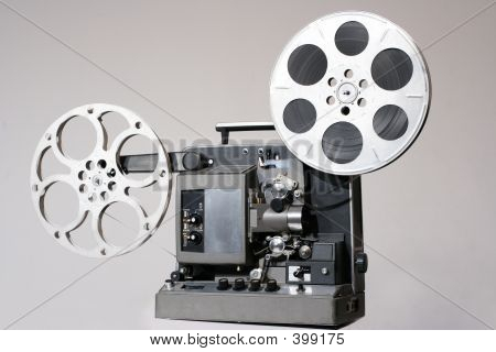 Retro 16mm Film Projector