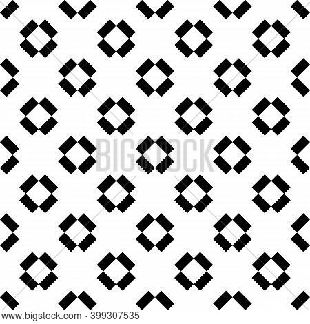 Seamless Vector. Rectangles Background. Diagonal Strokes Pattern. Slanted Dashes Motif. Folk Ornamen