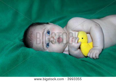 Bathtime And Duckie