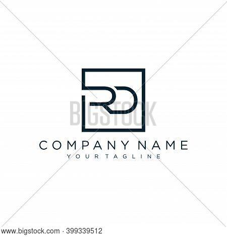 Modern Initial Rd Logo Design Vector, Abstract Logo Concept