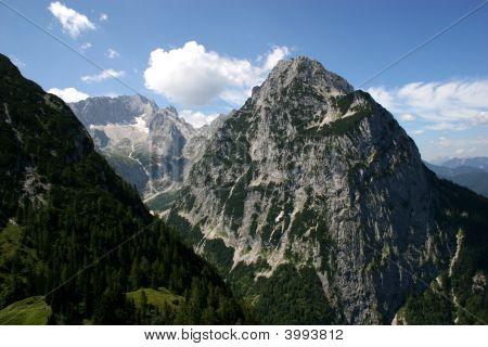 German Alps - Zugspitze, Germanys Highest Mountain