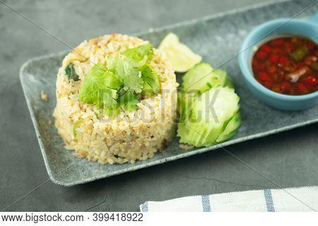 Stir-fry Rice With Pork And Egg, Homemade