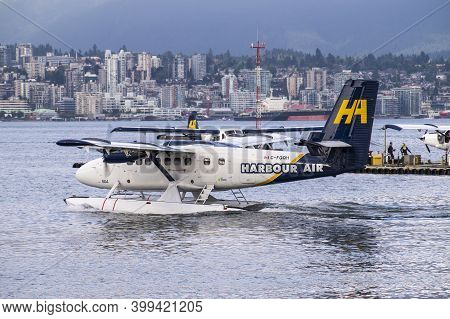 Seaplane. Harbour Air Seaplanes Is A Scheduled Floatplane Service, Tour And Charter Airline Based In