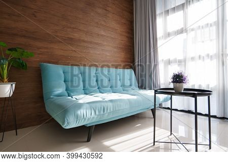 Clean Comfortable And Tidy Modern Living Room Space