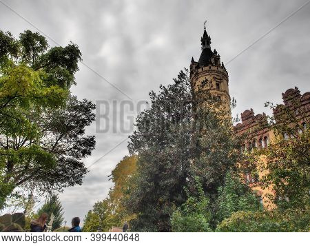 schwerin in germany with the old castle