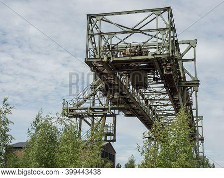 industrials ruins in the german ruhr aerea