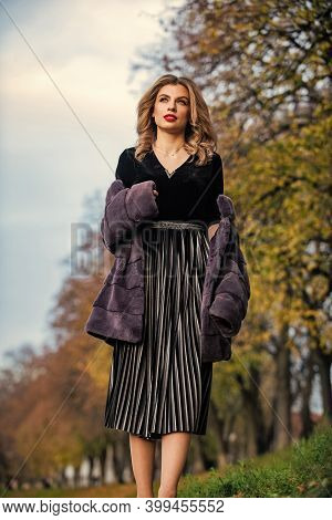 My Fashion Choice For This Season. Autumn Outfit Collection. Female Winter Apparel. Glamour Woman We