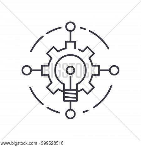 Insight Icon, Linear Isolated Illustration, Thin Line Vector, Web Design Sign, Outline Concept Symbo
