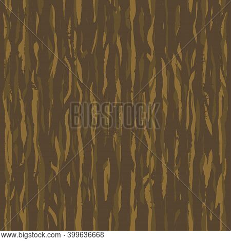 Brown Wenge Grunge Wooden Wall Plank, Table Or Floor Surface. Cutting Chopping Boar. Cartoon Wood Te