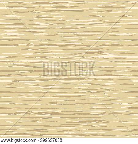 Light Beige Wood Grain Texture. Dense Lines. Seamless Background. Empty Natural Pattern Swatch Templ