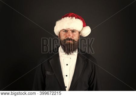 Financial Report. Manager Ready Celebrate New Year. Christmas Party Office. Corporate Holiday Party