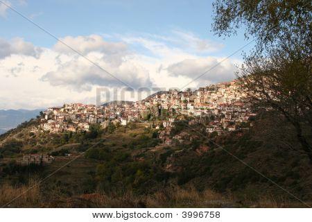 Mountain Village in Greece