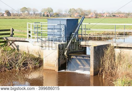 Small Simple Waterworks In The North Of The Netherlands
