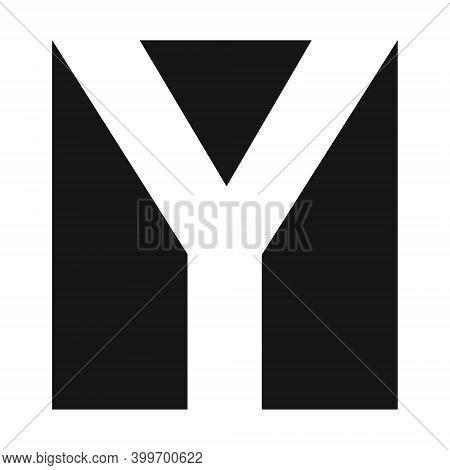 Simple Elegant Logo Letter Y Vector Premium Business Logo Letter Y Graphic Alphabetic Symbol Busines