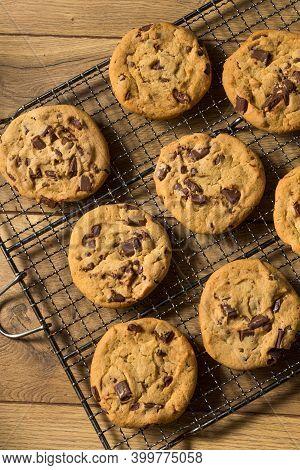 Warm Homemade Chocolate Chip Cookies