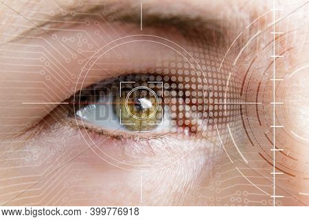 Concept Of Coding With The Eye. The Eye Uncodes The System.