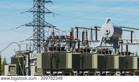 Electrical High - Voltage Equipment For Power Station Transformers